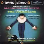道化師、仮面舞踏会、イタリア奇想曲、スペイン奇想曲 コンドラシン&RCAビクター交響楽団