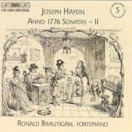 ハイドン(1732-1809)/Complete Piano Sonatas Vol.5: Brautigam(Fp)