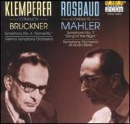 Sym.7 / 4: Rosbaud, Klemperer Berlin.rso / Vso