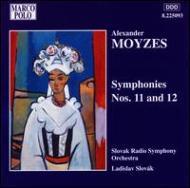 交響曲第11番・12番 スロヴァーク/スロヴァキア放送交響楽団