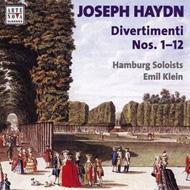 Divertimenti.1-12: Klein / Hamburg Soloists