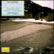 Violin Concerto / Caprices Nos.1-12 : Ricci(Vn)sargent / New.so