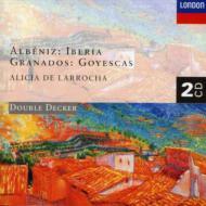 アルベニス:組曲『イベリア』、グラナドス:組曲『ゴイェスカス』 ラローチャ(p)