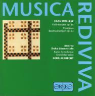 Prosperos Beschworungen, Violinconcerto: Albrecht / Austria.rso