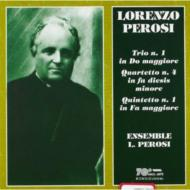 String Quartet.4, Trio.1, Piano Quartet.1: Ensemble L.perosi