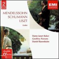 Liederkreis Op.39 / / Songs: J.baker(Ms)parsons, Barenboim
