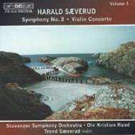 Sym.3, Violin Concerto: Ruud / Stavanger.so, T.saeverud(Vn)