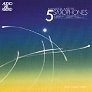 Meets 5 Saxophones