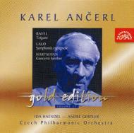 ラロ:スペイン交響曲、ラヴェル:ツィガーヌ、ハルトマン:葬送協奏曲 イダ・ヘンデル、ジェルトレル、アンチェル&チェコ・フィル