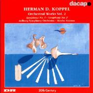 <管弦楽作品集2>交響曲第1番・第2番 アツモン/オルボー交響楽団