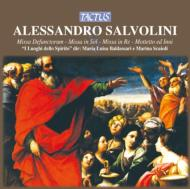 サルヴォリーニ:宗教曲集 バルダサッリ&スカイオリ/イ・ルオギ・デッロ・スピリト