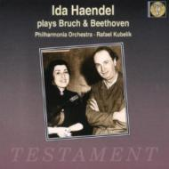 ヴァイオリン協奏曲 イダ・ヘンデル(Vn)、クーベリック&フィルハーモニア管