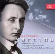 Srenades For Chamber Ensemble.1-4, Etc: Prague.co, Suk.q, Etc