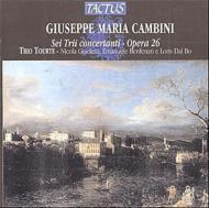 カンビーニ:6つの協奏的三重奏曲op.26/トリオ・トゥルテ