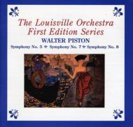 交響曲第5、7、8番 ホイットニー、メスター(指揮)ルイヴィル管