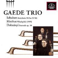 String Trio.2 / Serenade: Gaede Trio