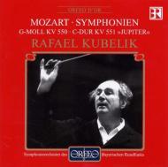 モーツァルト(1756-1791)/Sym.40 41: Kubelik / Bavarian Rso (1985 Live)