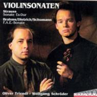 Violin Sonatas: Triender / Schroeder