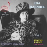 Violin Sonata.1 / 3: Ida Haendel(Vn)