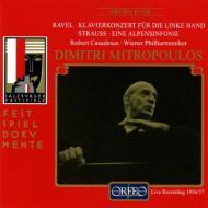 R・シュトラウス:アルプス交響曲、ラヴェル:左手のためのピアノ協奏曲 ミトロプーロス&ウィーン・フィル、カサドシュ(p)