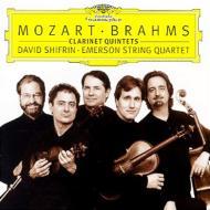 クラリネット五重奏曲集 シフリン、エマーソン四重奏団