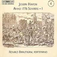 ハイドン(1732-1809)/Complete Piano Sonatas Vol.4: Brautigam(Fp)
