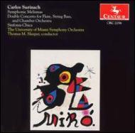 Symphonic Melismas, Double Concerto For Flute, String Bass & Chamber.o