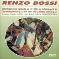Violin Concerto, Etc: Frontalini