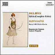 バレエ<シルヴィア>/サン=サーンス:歌劇<ヘンリー8世>(2CD) モグレリア/ラズムフスキ・シンフォニア