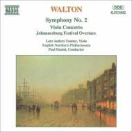 交響曲第2番、ヴィオラ協奏曲、ヨハネスバーグ祝祭序曲 ダニエル&イングリッシュ・ノーザン・フィル、トムター