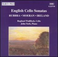 Cello Sonatas: Wallfisch / York