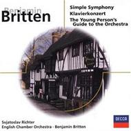 Simple Symphony, Piano Concerto, Etc: Britten / Eco, S.richter