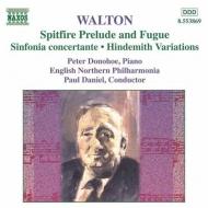 「スピットファイア」前奏曲とフーガ/協奏交響曲他 ダニエル/イギリス・ノーザン・フィル/ドノホー