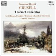 Clarinet Concertos.1-3: Billman(Cl)korsten / Uppsala.co