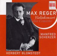 Violin Concerto: Scherzer(Vn)Blomstedt / Skd