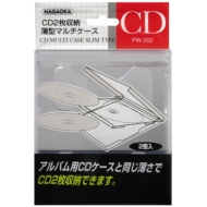 CD MULTI CASE SLIM TYPE CLEAR