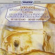 Vc.sonatas: Szabo / Varjon