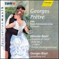 Symphony / Daphnis Et Chloe: Pretre / Stuttgart.rso