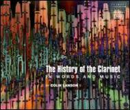 Clarinet Classical/The History Of The Clarinet: V / A