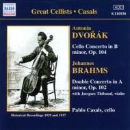 ヴァイオリンとチェロの二重協奏曲/チェロ協奏曲 カザルス/ティボー/コルトー/セル/他