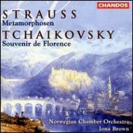 シュトラウス:弦楽六重奏曲「フィレンツェの思いで」他 ブラウン/ノルウェー室内o