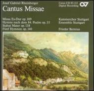 Mass Op.109: Bernius / Stuttgartensemble