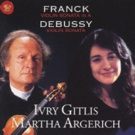 Violin Sonata: Gitlis(Vn)argerich(P)
