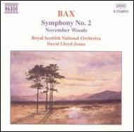 交響曲第2番/交響詩「11月の森」 ロイド=ジョーンズ/ロイヤル・スコティッシュ管弦