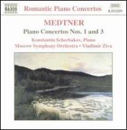 ピアノ協奏曲第1番Op.33/第3番Op.60 シチェルバコフ/ジヴァ/モスクワ交響