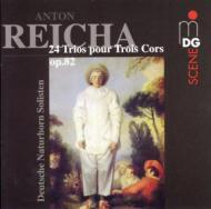 24 Trios For 3 Horns: Deutschenaturhorn Solisten