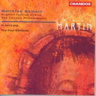 マルタン:オラトリオ「地には平和を」、交響練習曲「四元素」 バーメルト/ロンドンフィル