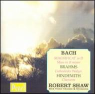 Magnificat / Liebeslieder Walzer: Shaw / Rca Victor.o & Cho +hindemith: 6songs