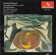 Samuel Gerhard (1925-2008)/String Quartet 1 2 Transformations: Lasalle Q Essex Sq Etc