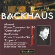 Backhaus Plays Mozart & Beethoven
